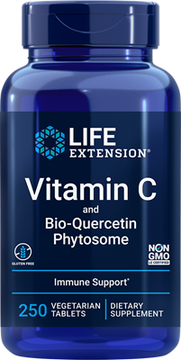 Vitamin C and Bio-Quercetin Phytosome                                    (250 vegetarian tablets)