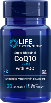 Super Ubiquinol CoQ10 with Enhanced Mitochondrial Support (100 mg) (60 capsules)